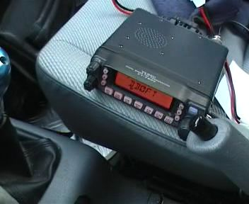 Mein TRX auf dem Beifahrersitz